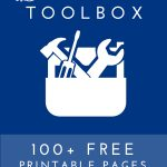 The Organization Toolbox | 100+ FREE Printable Pages to Help Organize Your Life & Home!