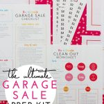 The Ultimate Garage Sale Prep Kit (a FREE printable!)