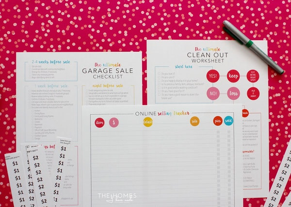 The Ultimate Garage Sale Prep Kit