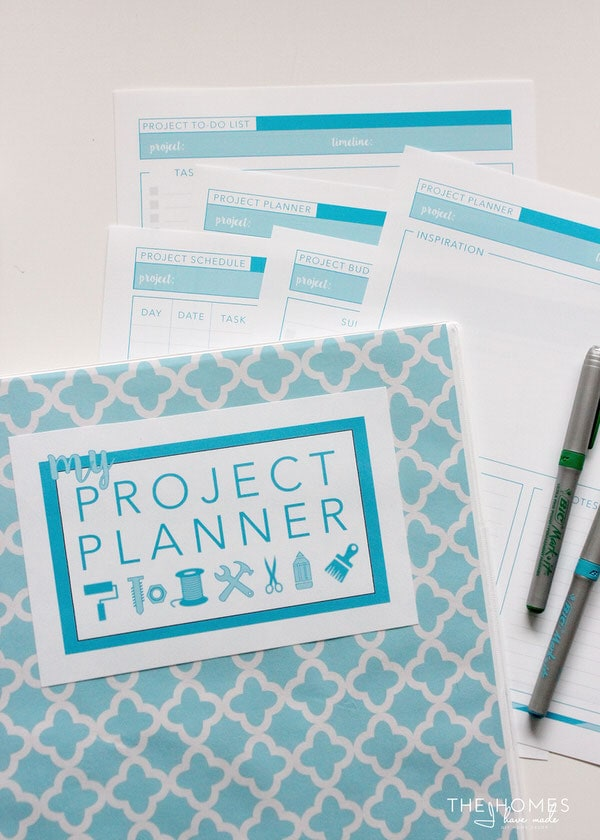 Printable Project Planner | 7-page downloadable kit