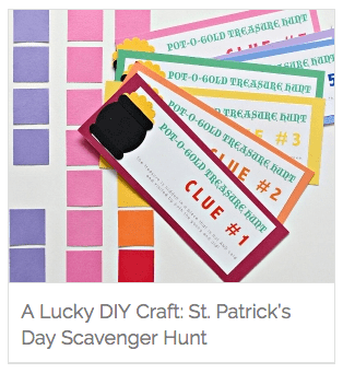 Make Your Own St. Patrick's Day Scavenger Hunt