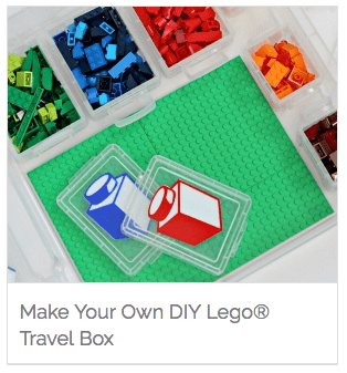 Make Your Own DIY Lego Travel Box
