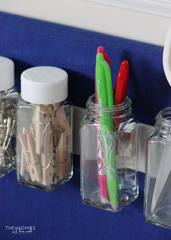 MagnetJar Spice Jars are a great way to sort and organize small craft supplies and notions to keep them handy and always at the ready!