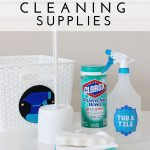 Organize Your Cleaning Supplies with Colorful Cleaning Kits!