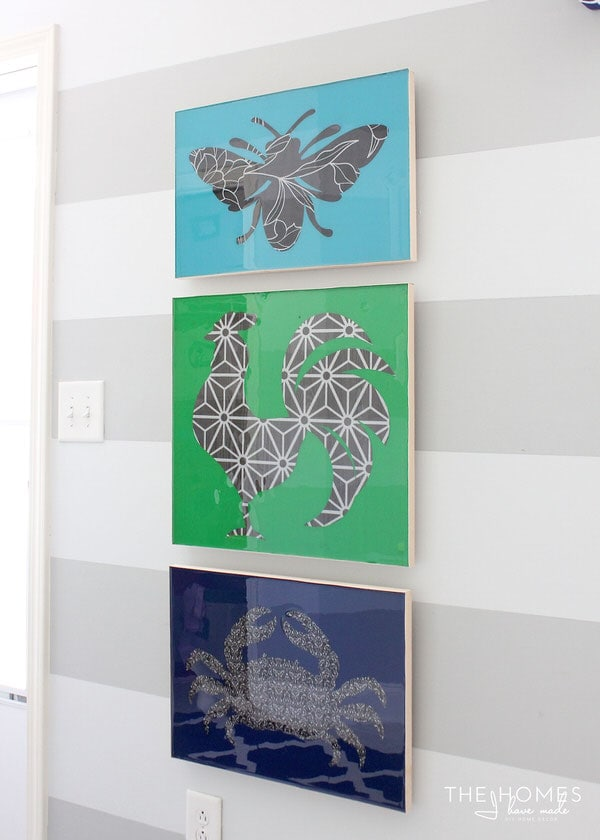 Use a Cricut Explore to make your own artwork!