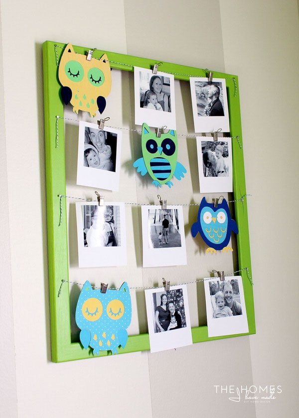 Use a Cricut Explore to make your own nursery artwork!