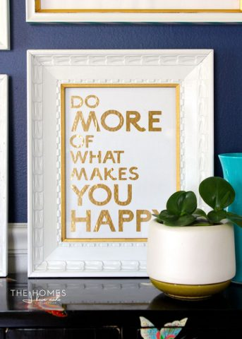 Use A Cricut Explore To Make Your Own Typography Artwork!