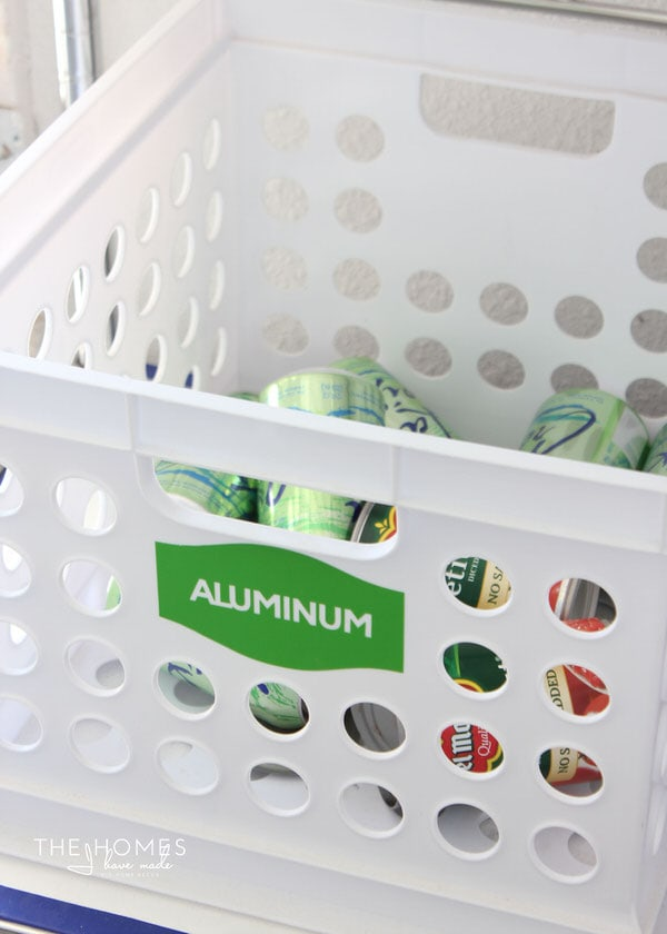 Use a Cricut Explore to make labels for every room in the home!