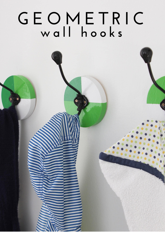 Geometric Wall Hooks