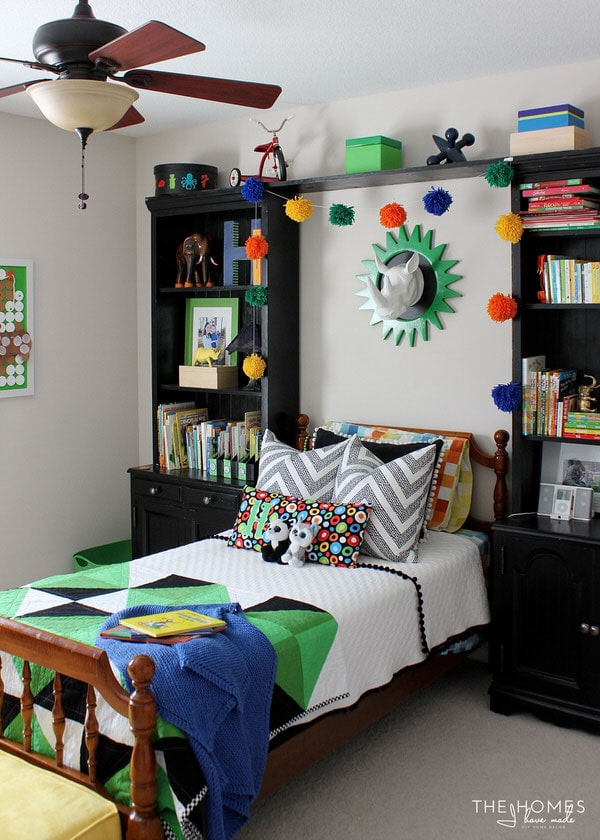 Little Boys Bedroom: A Jungle-Themed Little Boy's Room - The Reveal