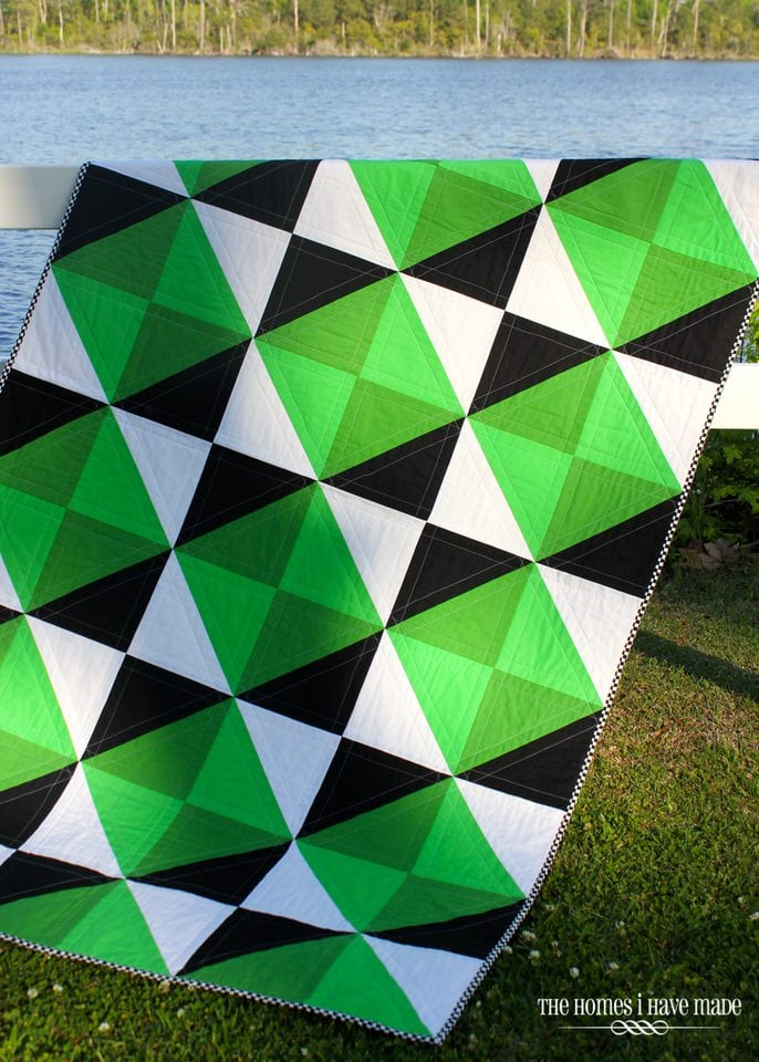 Henry's Green Quilt-001