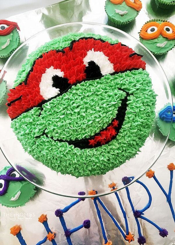 A TurtleY Awesome Ninja Turtles Birthday Party The Homes I Have Made