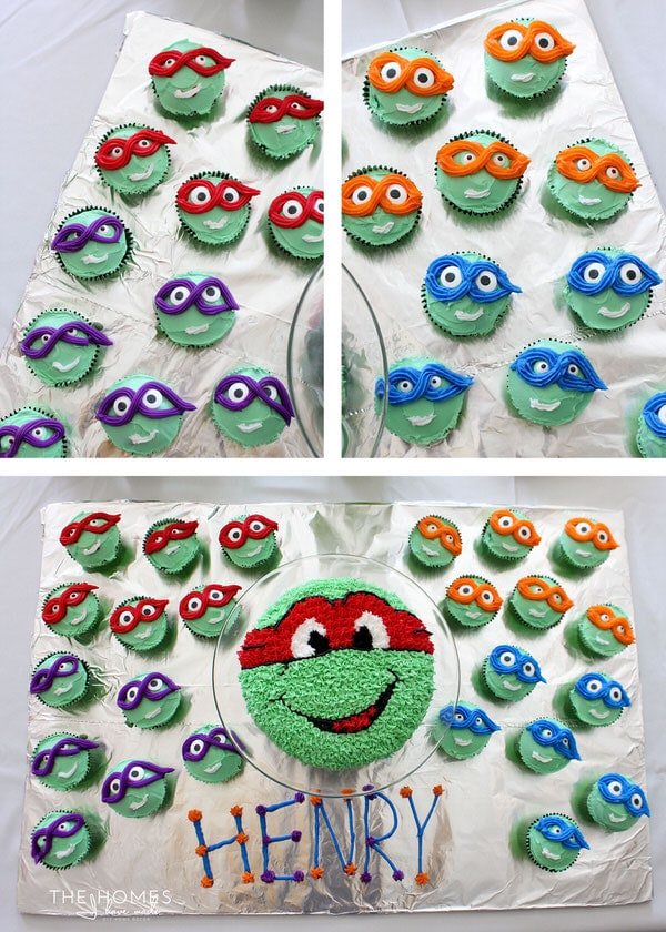 A Turtle Y Awesome Ninja Turtles Birthday Party The