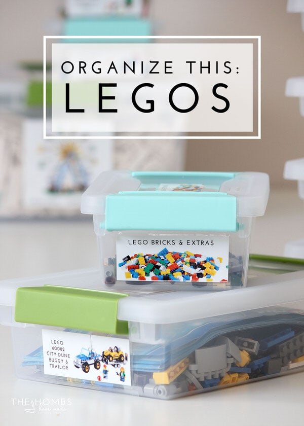 Get Your Lego Kits Organized And Labeled With This Simple Organizing  Project! Never Loose A