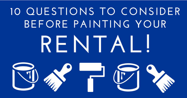 To paint or not to paint 10 questions to consider before for 100 questions to ask before renting an apartment