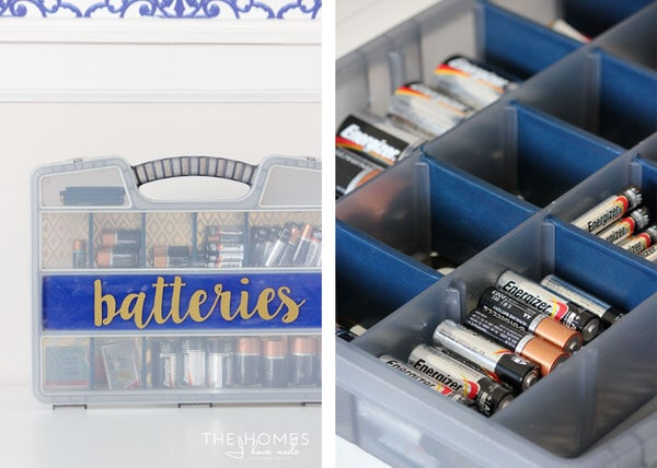 Make finding just the batteries you need quick and easy!