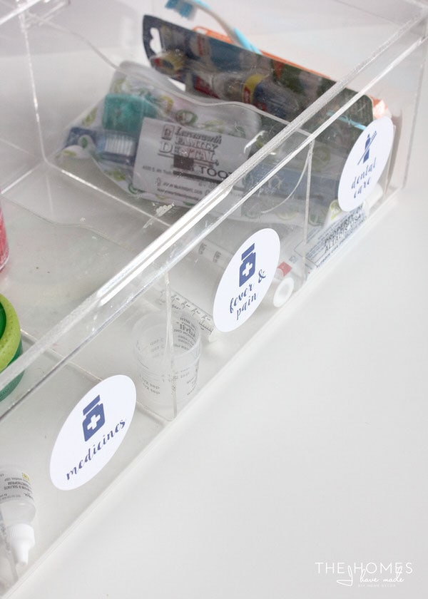 Make finding just the first aid supplies you need quick and easy!
