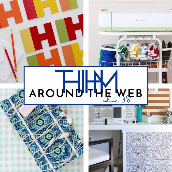 A round-up of craft and rental-friendly projects and articles written by Megan Duesterhaus and featured around the web!