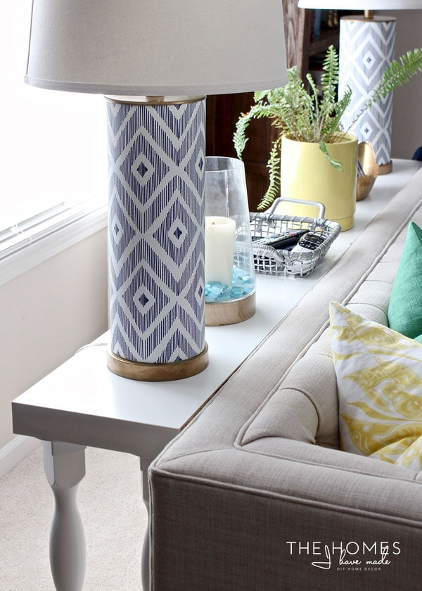 need a quick and easy sofa table without the hassle of tools and lumber this - Sofa Table Ikea