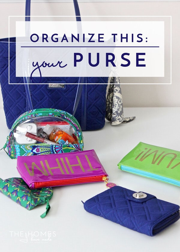 Is your purse a black hole you can't find anything in? Check out my solutions for creating order in this most used item of the day!