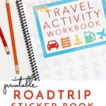 Printable Road Trip Activity and Sticker Book!