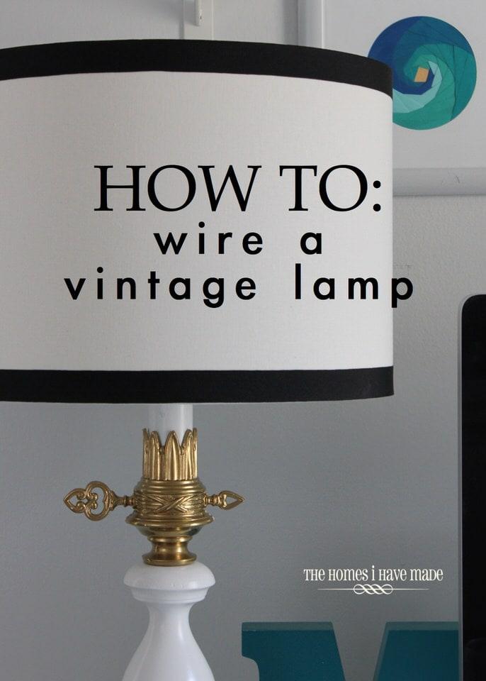 Vintage Lamp Makeover-019