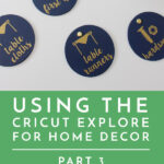 Cricut Explore for Home Decor | Part 3: Importing Your Own Images