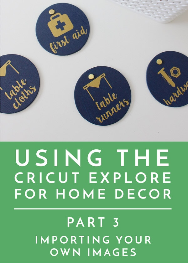 Importing Your Own Images Into Cricut Design Space