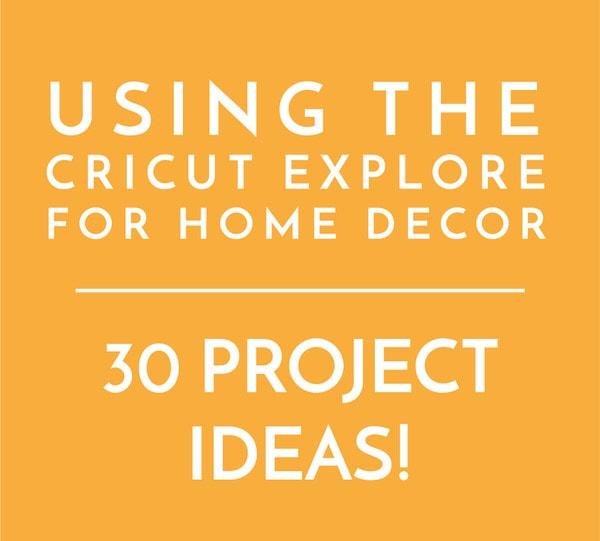 Dorable Home Decor Vinyl Wall Art Cricut Elaboration - Wall Art ...