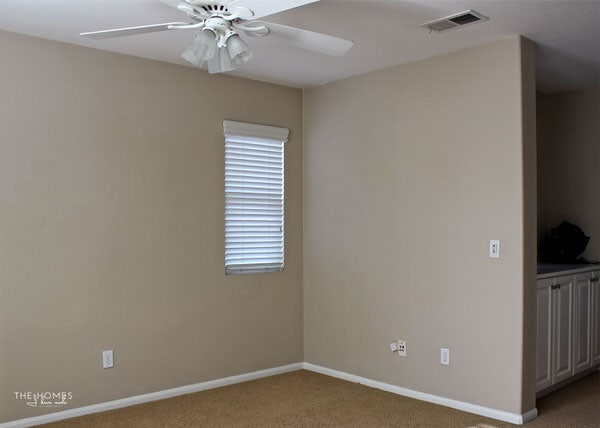 "We're moving into our 7th home in 11 years! Come tour this ""blank slate"" of a house...our home for the next few years!"