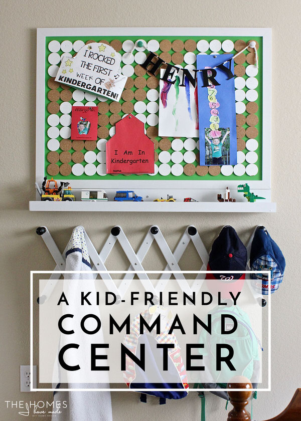 A Kid-Friendly Command Center