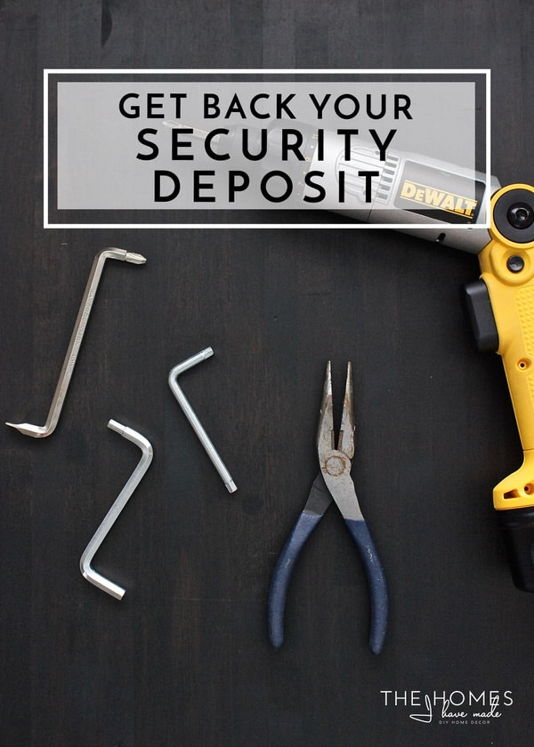 Ways to Ensure You Get Back Your Security Deposit