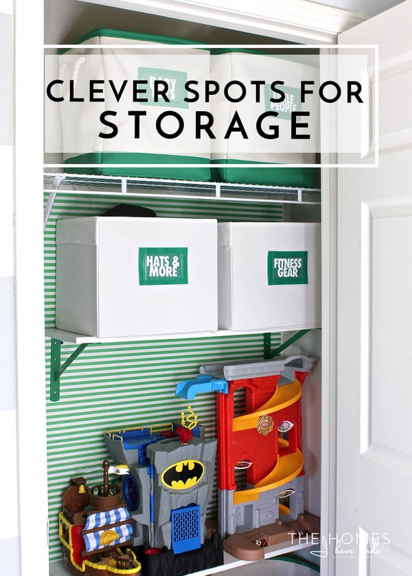 Clever Spots to Carve Out More Storage