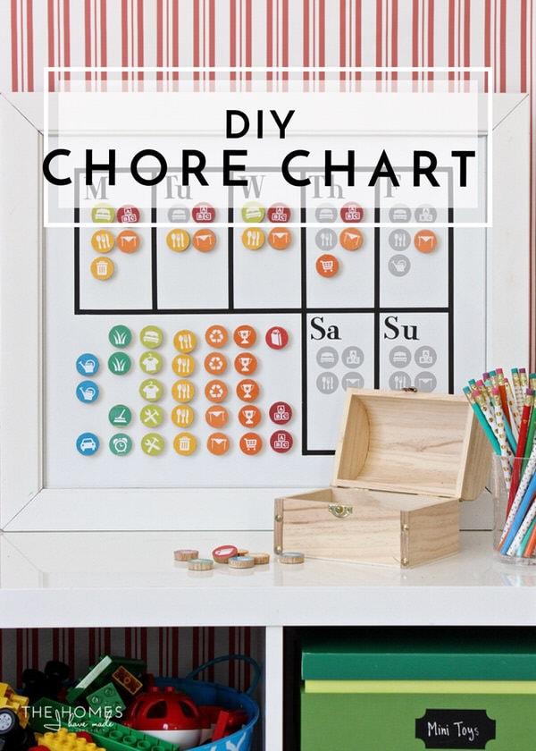 DIY Chore Chart