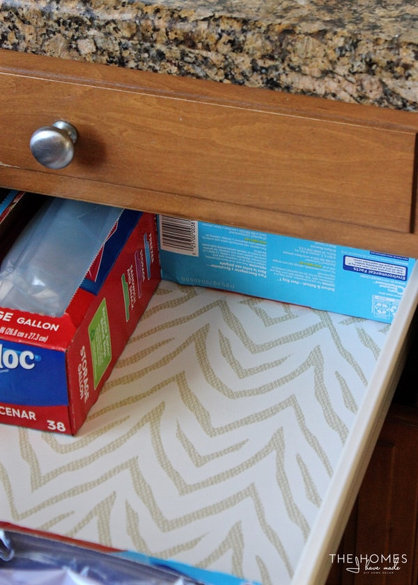 Use boxes in your kitchen drawer to keep items in place