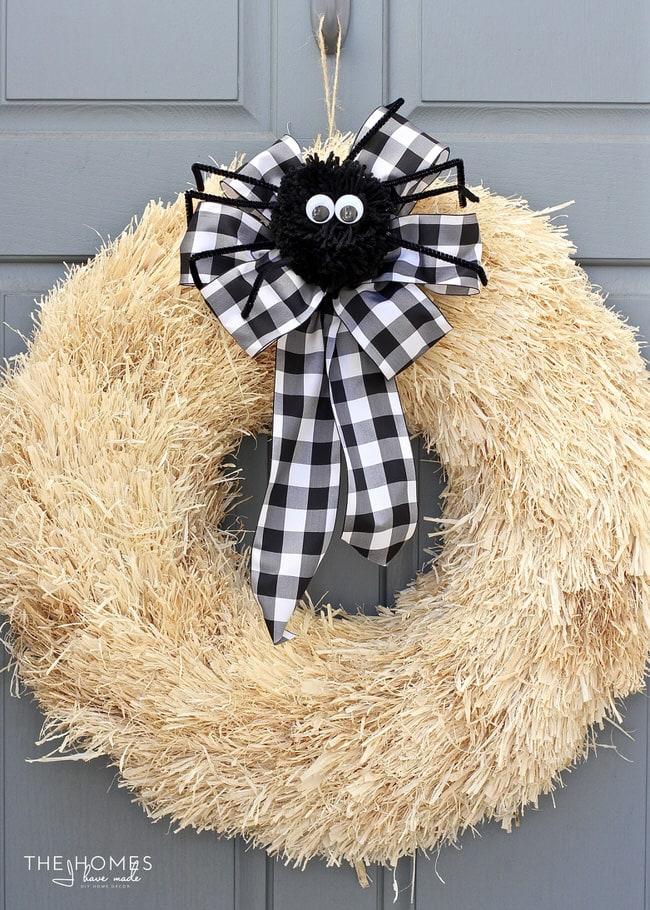 Super Simple Halloween Wreath
