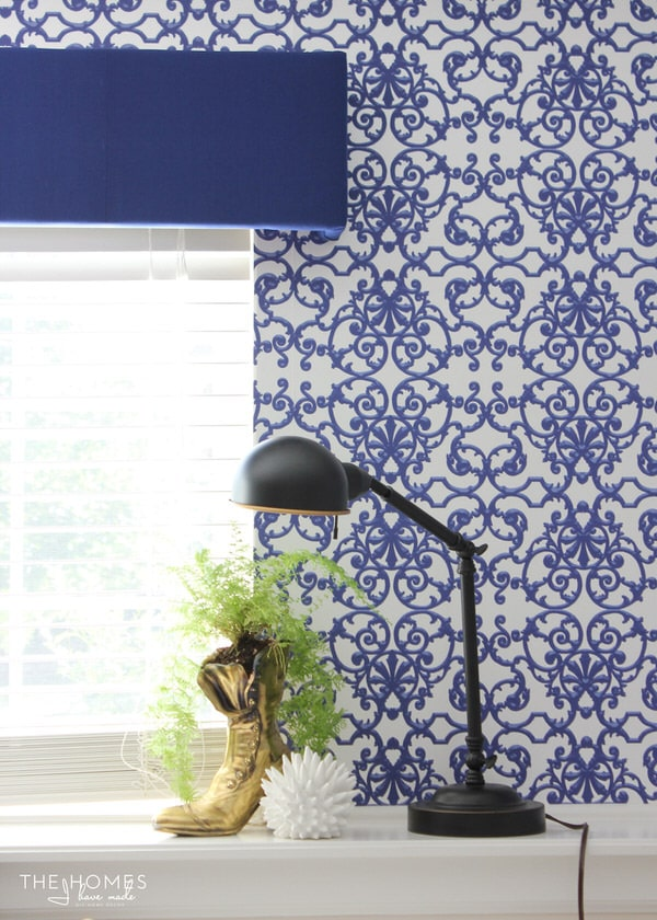 You're loving the wallpaper trend, but all your walls are textured! Will