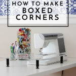 Home Decor Sewing School | How to Sew Boxed Corners