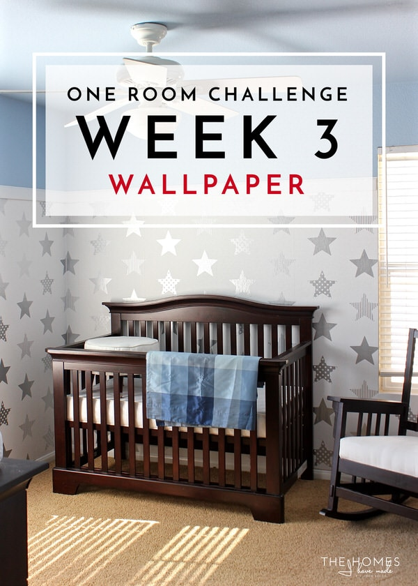 One Room Challenge | Week 3: Wallpaper Installation
