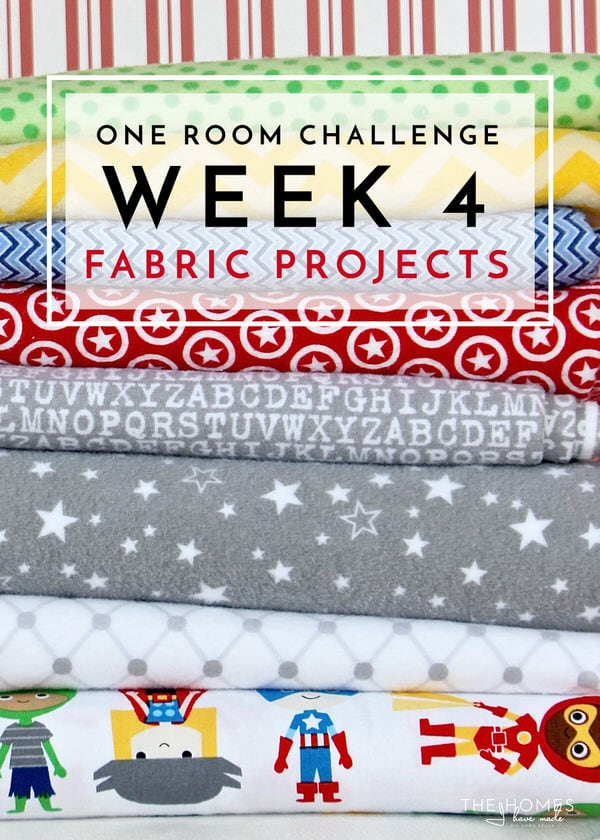 One Room Challenge | Week 4: Fabric Projects