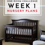 "One Room Challenge | Week 1: The Nursery ""Before"" and Design Plan"