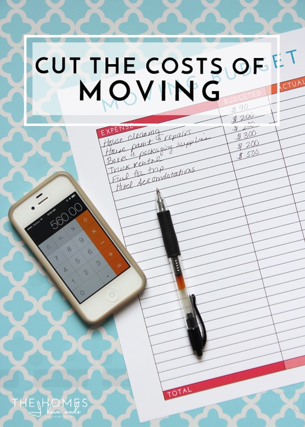 Strategies for Cutting the Cost of Moving