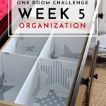 One Room Challenge | Week 5: Organization