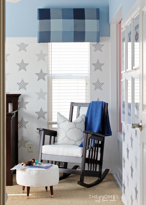 We transformed this boring bedroom into a Super Hero Nursery for our Baby Boy in just 6 weeks as part of the One Room Challenge. Click through to see all the DIY nursery details!