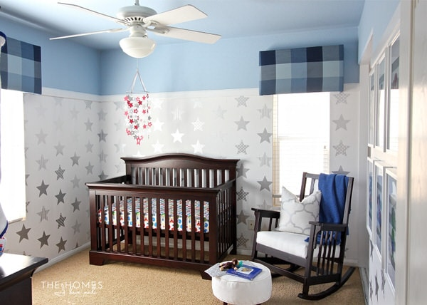 "One Room Challenge Final Reveal | ""Super Star"" Baby Boy Nursery"