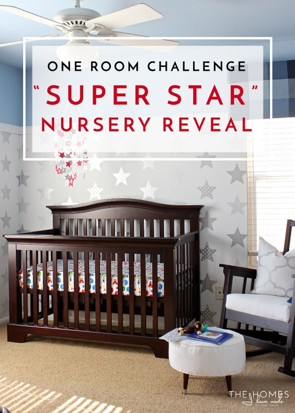 one room challenge reveal our super star baby boy