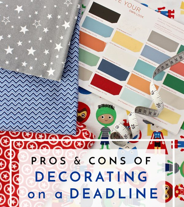 Decorate a room from start to finish or let it develop naturally? Click through to read the The Pros and Cons of Decorating on a Deadline