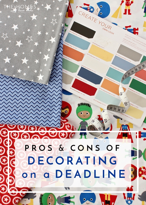 The Pros and Cons of Decorating on a Deadline
