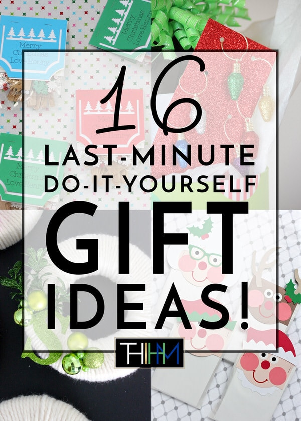 Christmas is quickly approaching! Finish off your gift list with these last-minute DIY Christmas Gift Ideas!