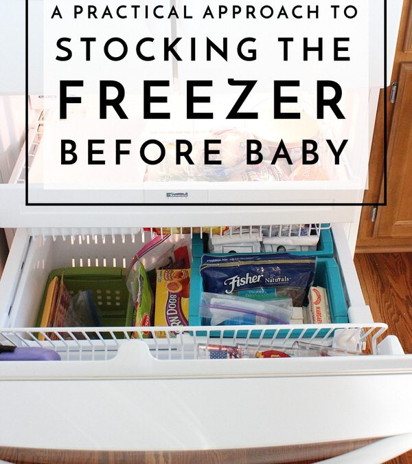 There are a million things to do to prepare for a new baby in the home. Smooth the transition and still get healthy and satisfying meals on the table with this no-fuss, practical approach to stocking the freezer!